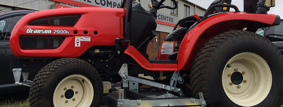 2500LH Branson Tractors with Tractor Mower