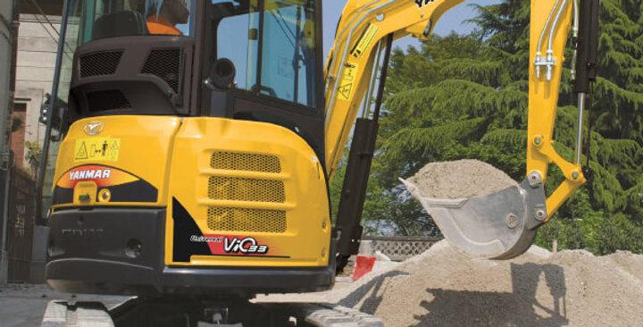 ViO33 Series Yanmar Mini Excavator