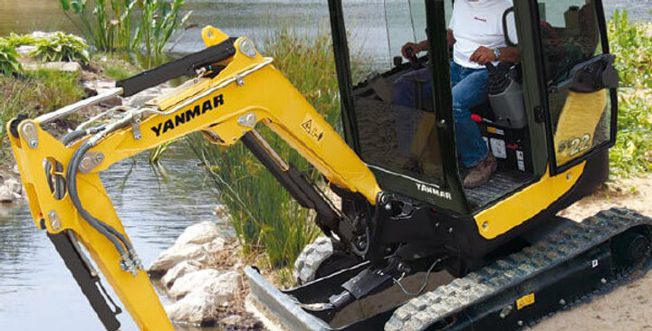 SV22 Series Yanmar Mini Excavators