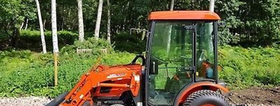 Kioti Tractor CK2810 Cab Front Loader Tractor | Compact Tractors For Sale UK