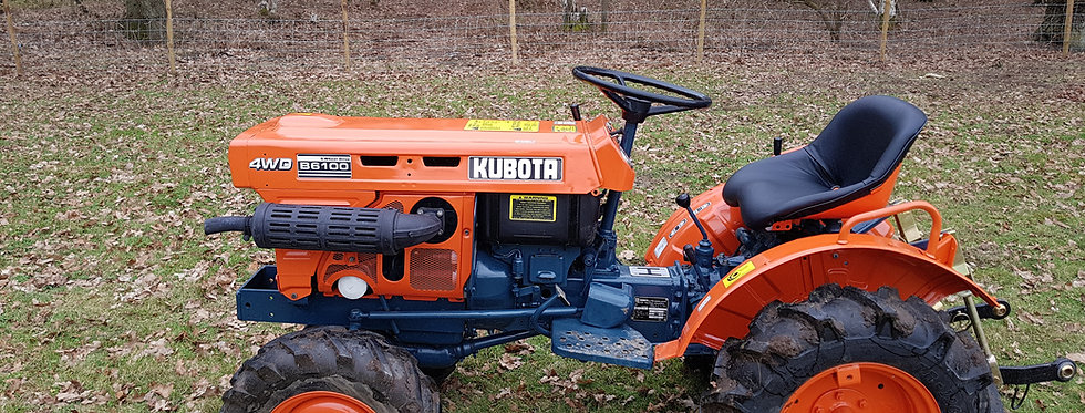 B6100D Kubota Compact Tractor | Compact Tractors For Sale UK