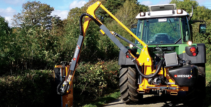 T-500-G-E Tractor Hedge Cutter For Sale