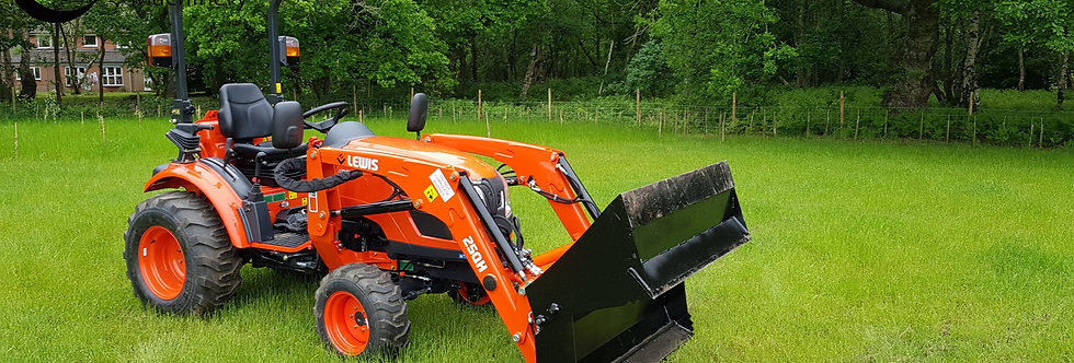 CK3310  NEW Kioti Compact Tractor WITH 4 IN 1 Bucket| Compact Tractors For Sa