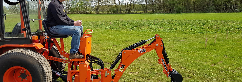 Landlugger BH15 Compact Tractor Backhoe Attachment