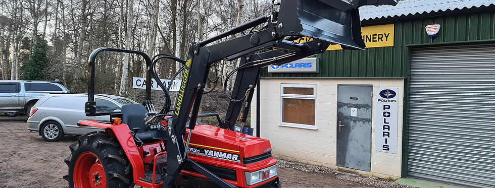 Yanmar Compact Tractor FX255D 4WD with 4 in 1 Front Loader