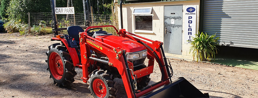 Yanmar CF180 Loader Tractor For Sale