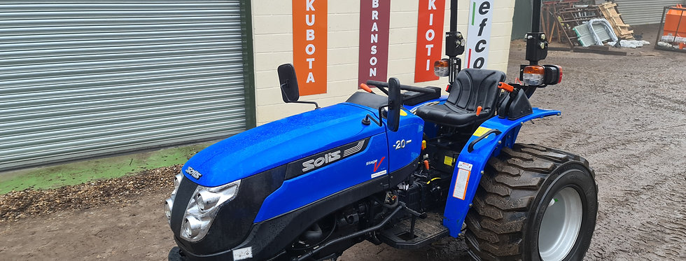 SOLIS 20 Compact Tractor | Compact Tractors For Sale UK