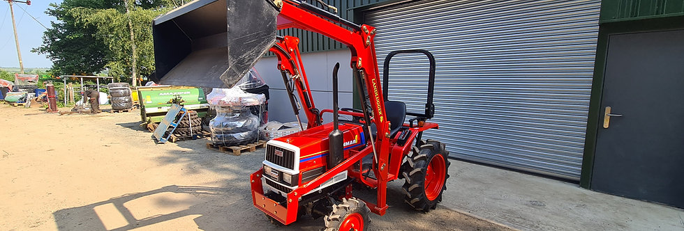 Yanmar Compact Tractor FX16D 4WD with Front Loader