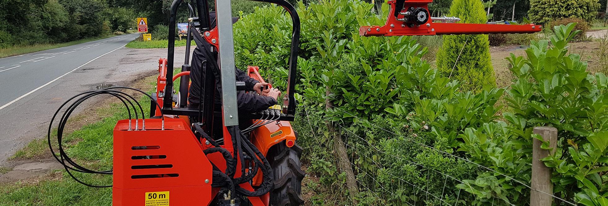 Tree Trimming Tractor Attachment