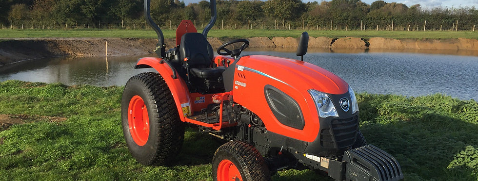 Kioti Large Compact Tractor CK 4010 4WD HST Excl. VAT