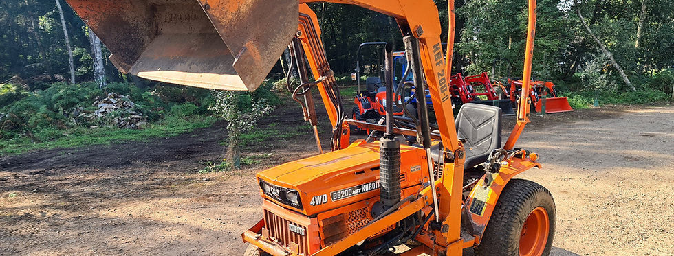 B6200D Kubota Compact Tractor With Loader | Tractor With Loader For Sale