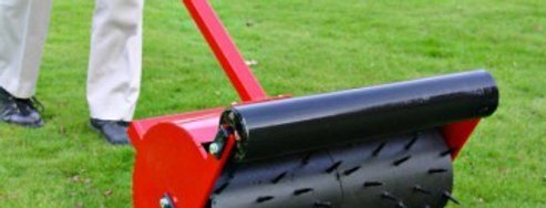 Stand alone Sorrel Roller 24in   Compact Tractor Attachments UK
