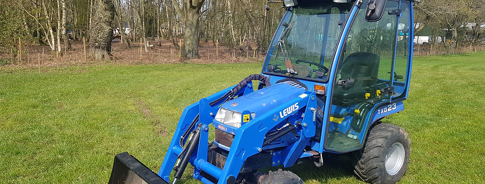 Iseki   Compact Tractor TXG23 With Front End Loader & Heated Cab