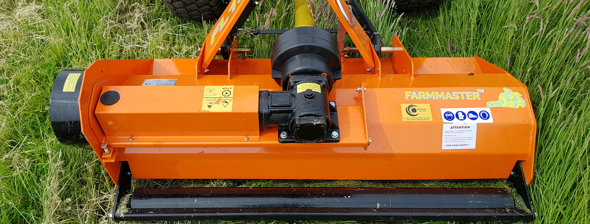 FarmMaster Flail Mower for sale UK | Flail Mowers For Compact Tractors