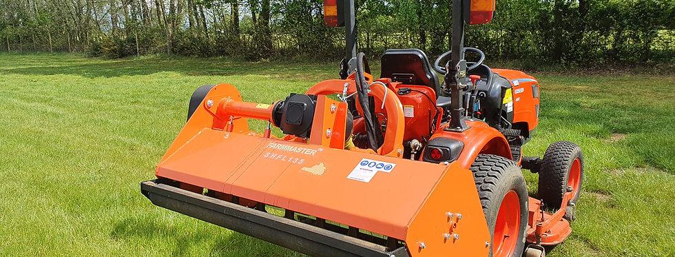 SHFL115 FARMMASTER 1.15m Hydraulic Side Shift Flail Mower (Offset Flail Mower)