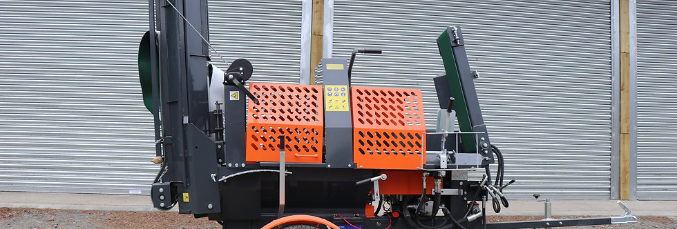 12 Ton Tracked Firewood Processor For Sale | Rock Machinery LTD