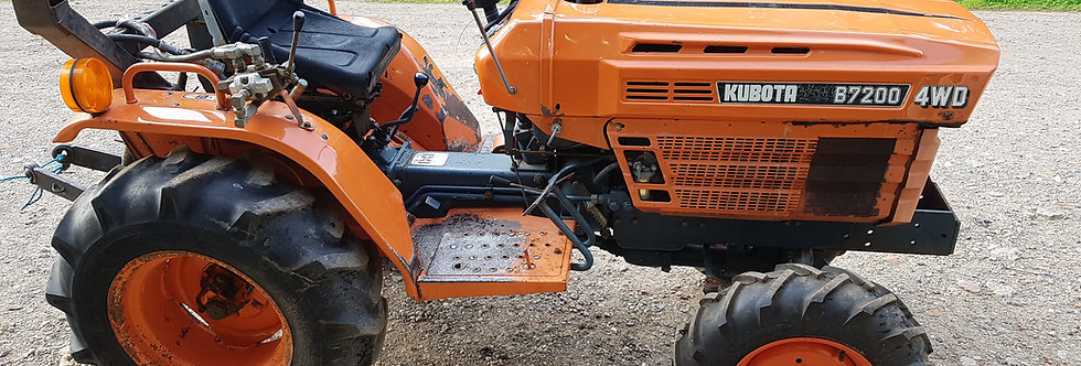 B7200 Kubota Tractor For Sale UK