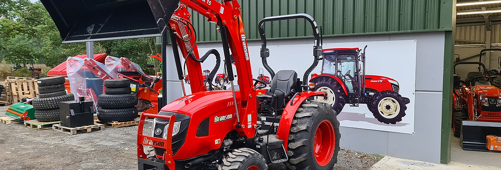 F50H Branson Compact Tractor + Tractor Loader