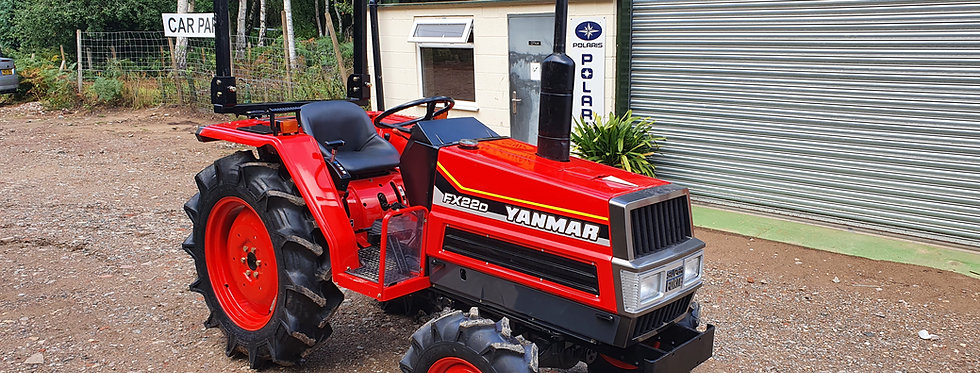 Yanmar Compact Tractor for sale FX22  4WD