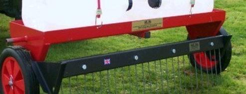 "40"" Heavy Duty Moss Rake Attachment | Compact Tractor Attachments UK"
