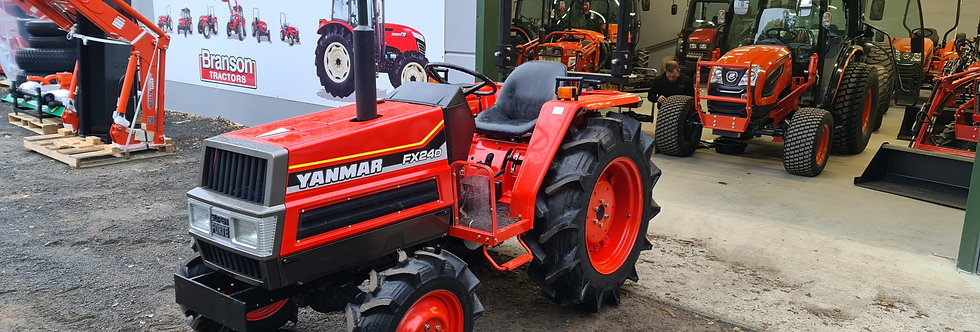 Yanmar Compact Tractor FX24DT 4WD