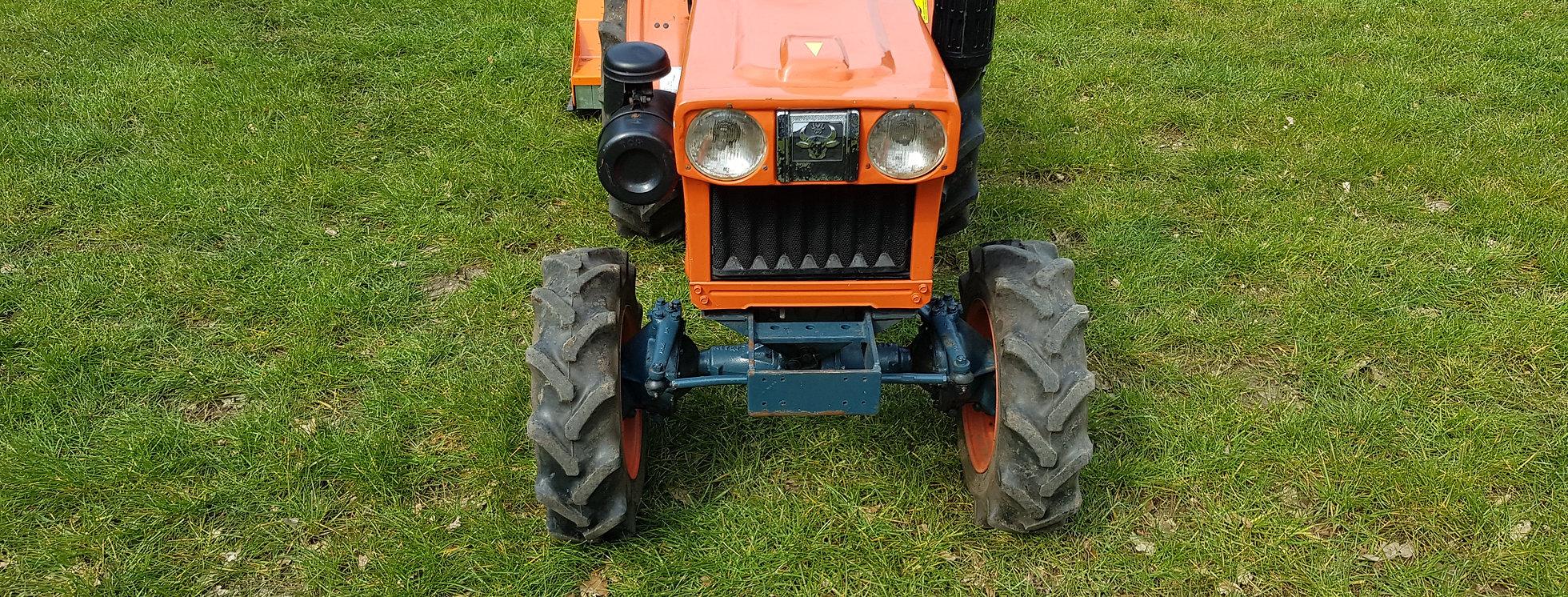 7100D Kubota Compact Tractors + 1 15M Flail Mower