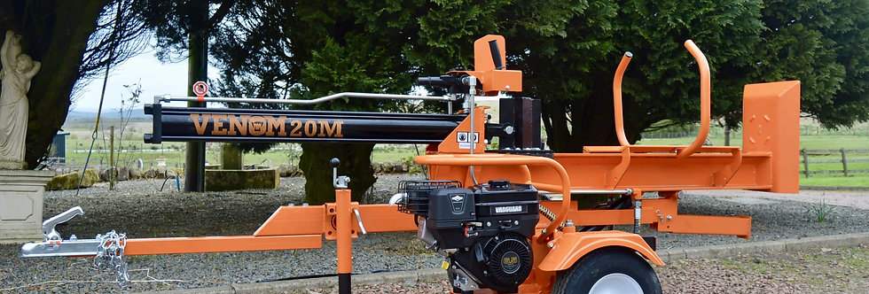 20 Ton Venom Meter Length Hydraulic Log Splitter For Sale