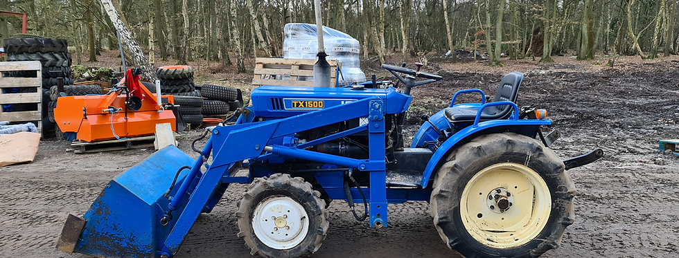 Iseki Compact Tractor TX1500 Manual with Tractor Loader