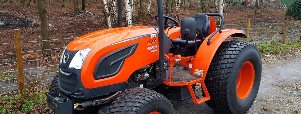 Large Kioti Tractor DK5010 4WD Hydro Shuttle | Compact Tractors For Sale UK