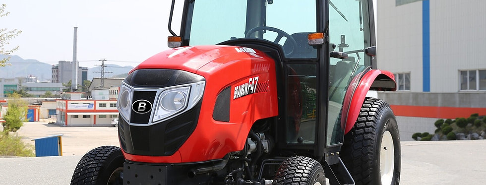 F50CR Cab Branson Compact Tractor + Tractor Loader + Compact Tractor Backhoe