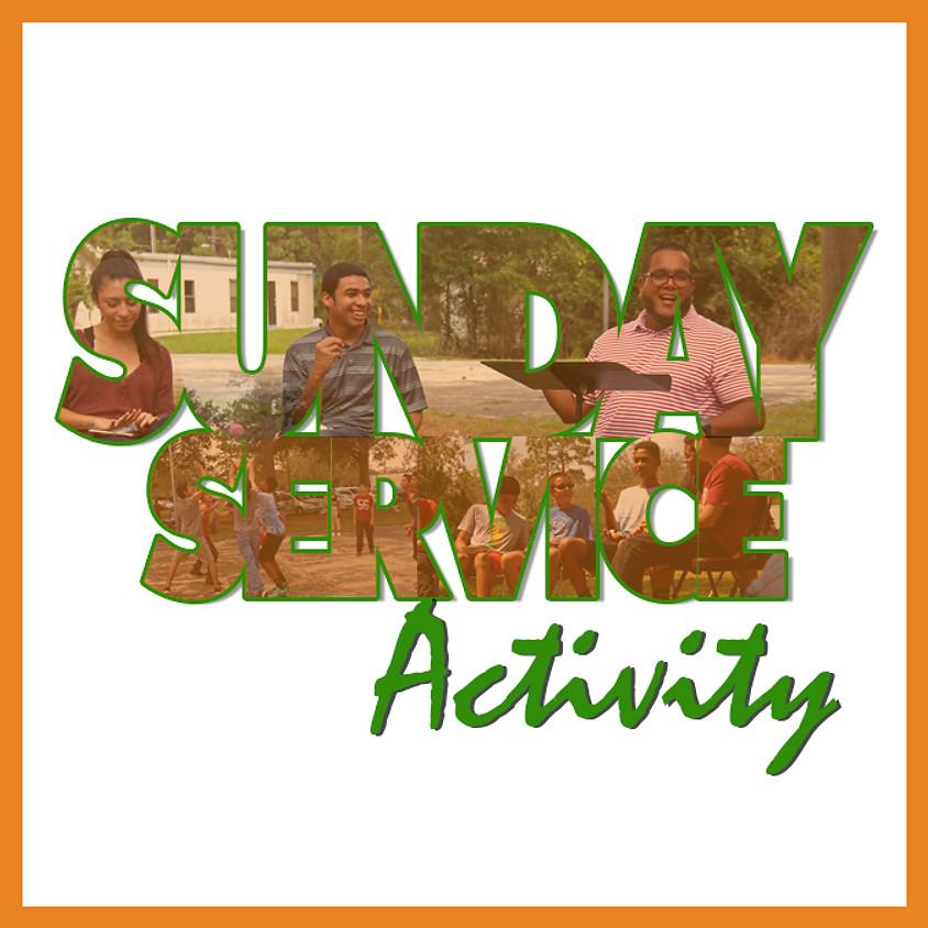 Sunday Service Activity