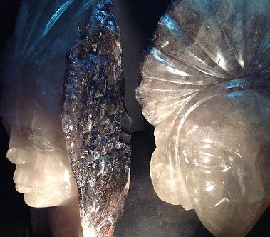 Cacoxenite in Quarz, Super 7