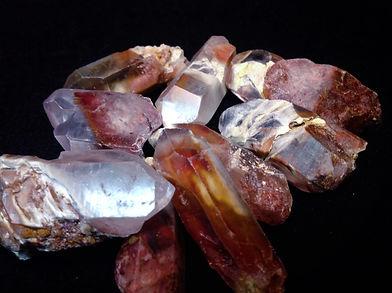 rooster tail quartz, amhibole quatz