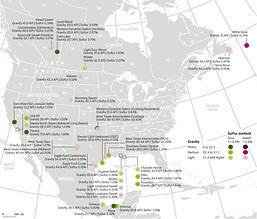 North America Oil Specs