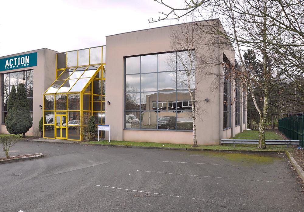 bâtiment centre de formation ACTION Formation