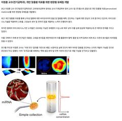 [2021-02] 이정훈 교수(전기공학과), 개인 맞춤형 의료를 위한 현장형 유체칩 개발