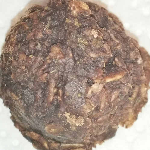 Whole plant chocolate coconut balls
