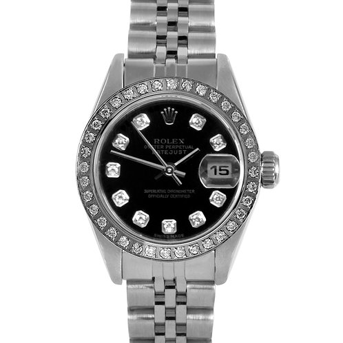 ROLEX DATEJUST 26MM W/ AMAZING CUSTOM ADDED DIAL