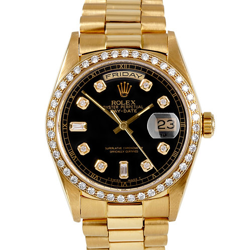 ROLEX DAY-DATE 36MM 18K GOLD