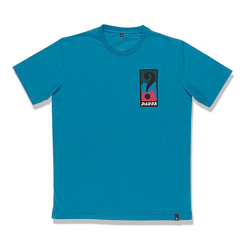 by Parra T-SHIRT indy tuck knee/SLATE BLUE