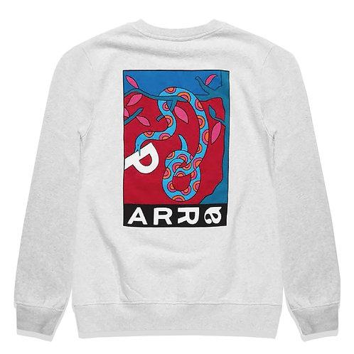 by Parra eve's garden crew neck sweatshirt / Ash