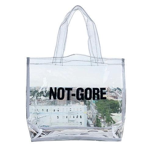 GETABACOxCOZYHOUSETOKYO NOT-GORE CLEAR BAG