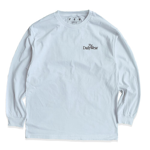 COZYHOUSETOKYO 日常着 OLD AD LS T-SHIRT / WHITE