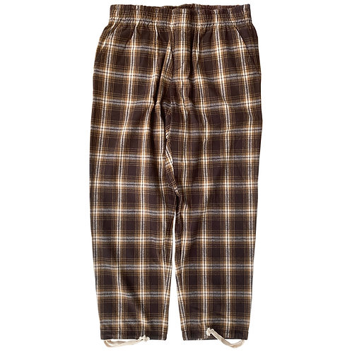COZYHOUSETOKYO 日常着 COYOTE PAJAMA PANTS/WHITE CHECK