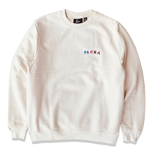 by Parra fonts are us neck sweatshirt