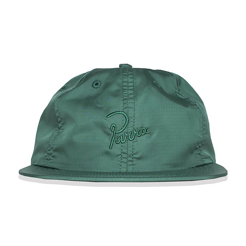by Parra signature 6 panel ripstop hat / Green
