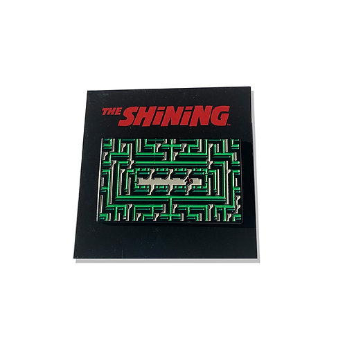 The Shining Hedge Maze Enamel PIN