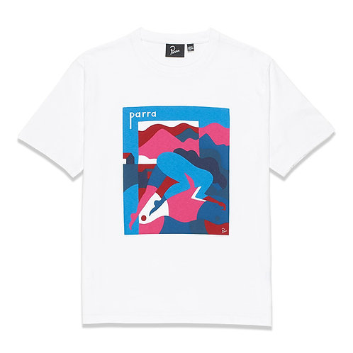 by Parra girl racer T-SHIRT
