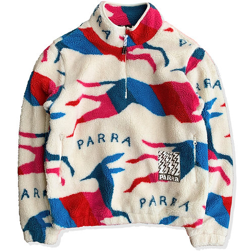 by Parra jumping foxes sherpa fleece