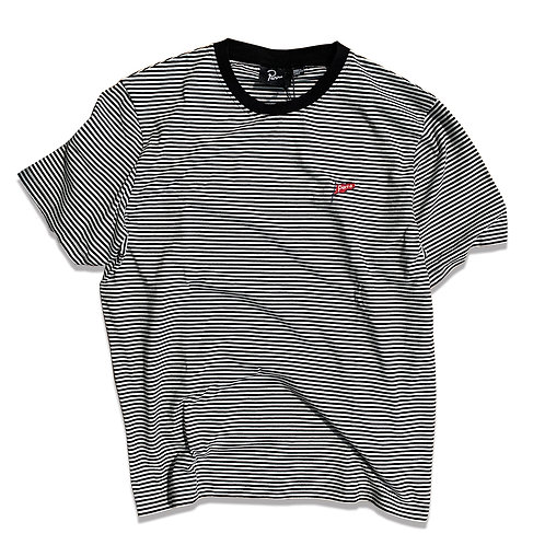 by Parra flapping flag striped T-SHIRT